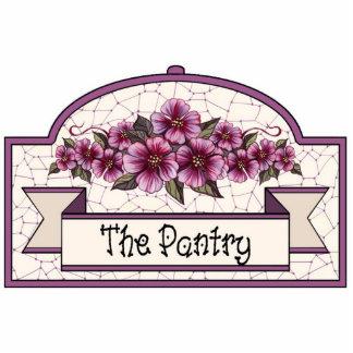 """The Pantry"" - Decorative Sign - 33 Photo Sculpture Ornament"