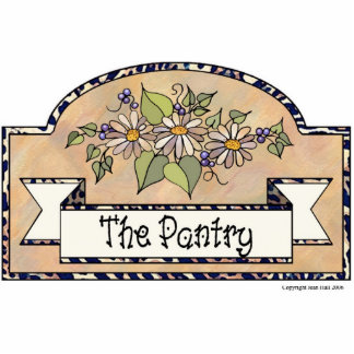 """""""The Pantry"""" - Decorative Sign Photo Cutouts"""