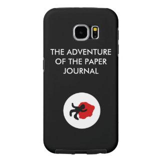 The Paper Journal Black Samsung S6 Case
