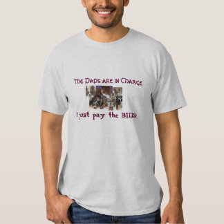 The paps are in charge t-shirt