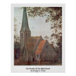 The Parable Of The Blind Detail By Bruegel A. Piet Poster