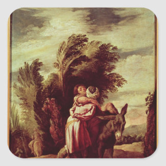 The Parable of the Good Samaritan Square Sticker