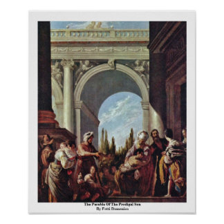 The Parable Of The Prodigal Son By Fetti Domenico Posters