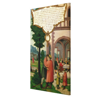 The Parable of the Prodigal Son Canvas Print