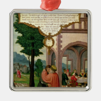 The Parable of the Prodigal Son Metal Ornament
