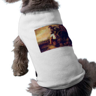 The parable of the treasure graves by Rembrandt Dog T-shirt