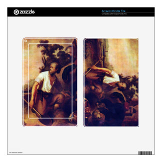 The parable of the treasure graves by Rembrandt Kindle Fire Skins