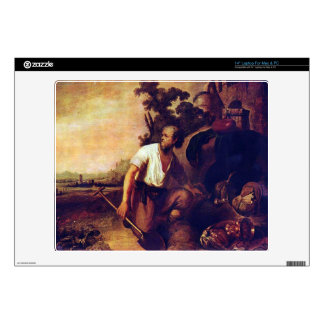 The parable of the treasure graves by Rembrandt Skin For Laptop