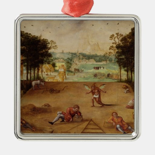 The Parable of the Wheat and the Tares, 1540 Ornament