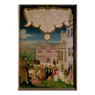 The Parable of the Wise and Foolish Virgins Poster