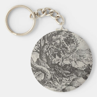 The Parable of Vicious Weed Basic Round Button Keychain