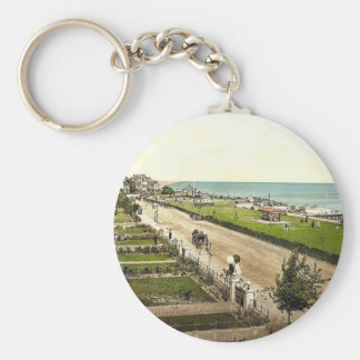 The parade, Clacton-on-Sea, England classic Photoc Keychains