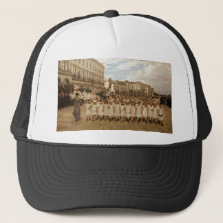 The Parade of the Schools by Jan Verhas Trucker Hat