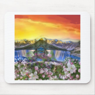 The paradise exists on the Earth. Mouse Pad
