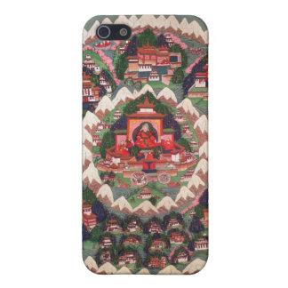 The Paradise of Shambhala, Tibetan Banner Cover For iPhone SE/5/5s