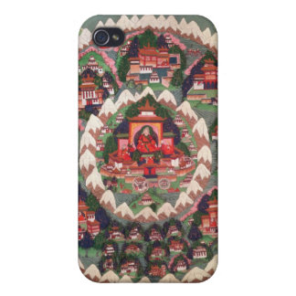 The Paradise of Shambhala, Tibetan Banner iPhone 4 Cover