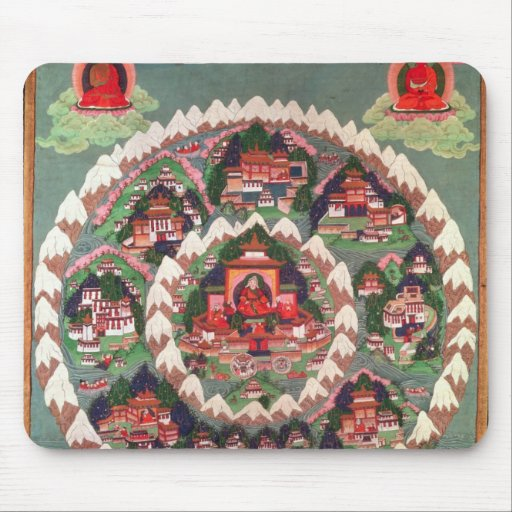 The Paradise of Shambhala, Tibetan Banner Mouse Pad
