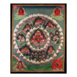 The Paradise of Shambhala, Tibetan Banner Print