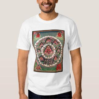 The Paradise of Shambhala, Tibetan Banner T Shirt