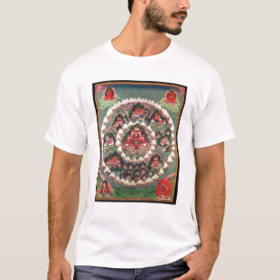 The Paradise of Shambhala, Tibetan Banner T-Shirt