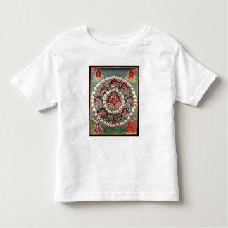 The Paradise of Shambhala, Tibetan Banner Toddler T-shirt