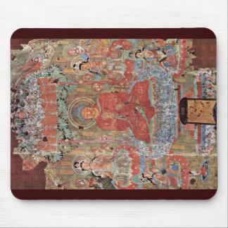 The Paradise Of The Buddha Amitabha Mouse Pad