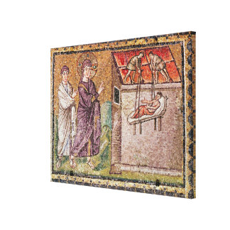 The Paralytic of Capharnaum Gallery Wrap Canvas
