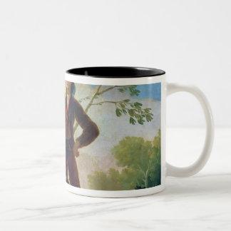 The Parasol, 1777 Two-Tone Coffee Mug