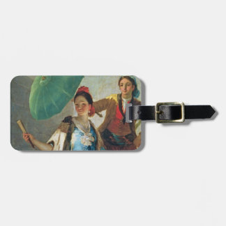 The Parasol, 1777 (oil on canvas) Luggage Tag