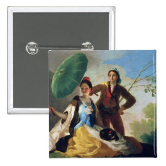 The Parasol, 1777 Pinback Button
