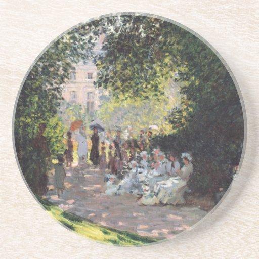 The Parc Monceau - Claude Monet Beverage Coaster