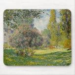 The Parc Monceau - Claude Monet Mouse Pad