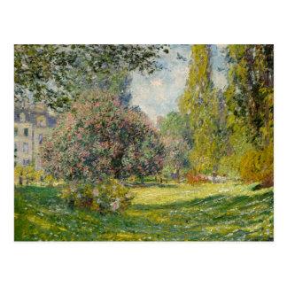 The Parc Monceau - Claude Monet Postcard