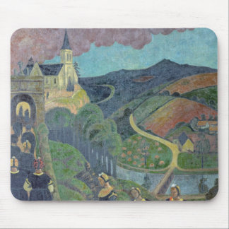 The Pardon of Notre-Dame-des-Portes at Mouse Pad
