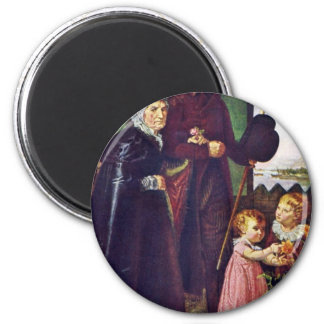 The Parents Of The Artist By Runge Philipp Otto Magnet