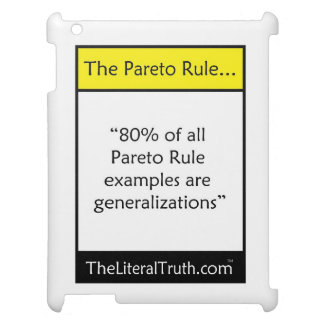 The Pareto Rule Cover For The iPad