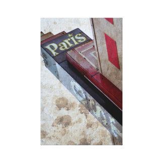 The Paris Canvas Print