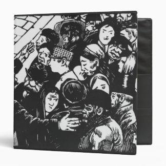 The Paris crowd, 1892 3 Ring Binders