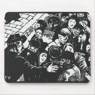 The Paris crowd, 1892 Mouse Pad
