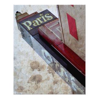The Paris Photo Print