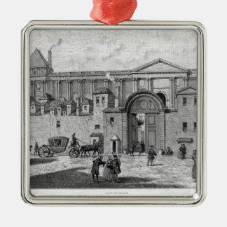 The Paris Post Office Metal Ornament
