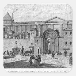 The Paris Post Office Square Sticker