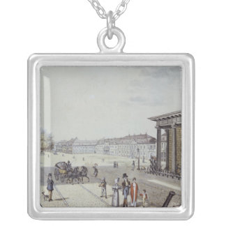 The Paris Square, Berlin Silver Plated Necklace