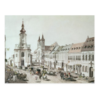 The Parish Church and Cemetery of Fauxbourg Postcard