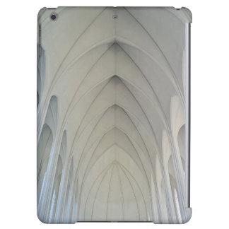 The parish church and landmarks of Reykjavik Cover For iPad Air