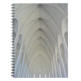 The parish church and landmarks of Reykjavik Notebook