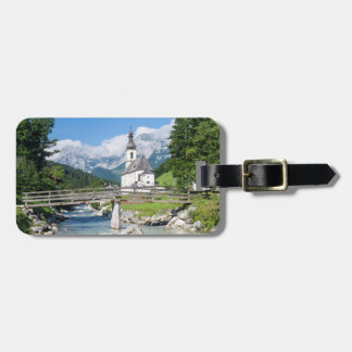 The parish church of Ramsau Luggage Tag