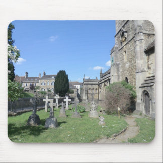 The Parish Church of St John the Baptist at Frome Mouse Pad