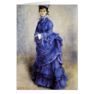 The parisian by Pierre Renoir Card