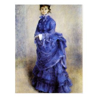 The parisian by Pierre Renoir Postcard